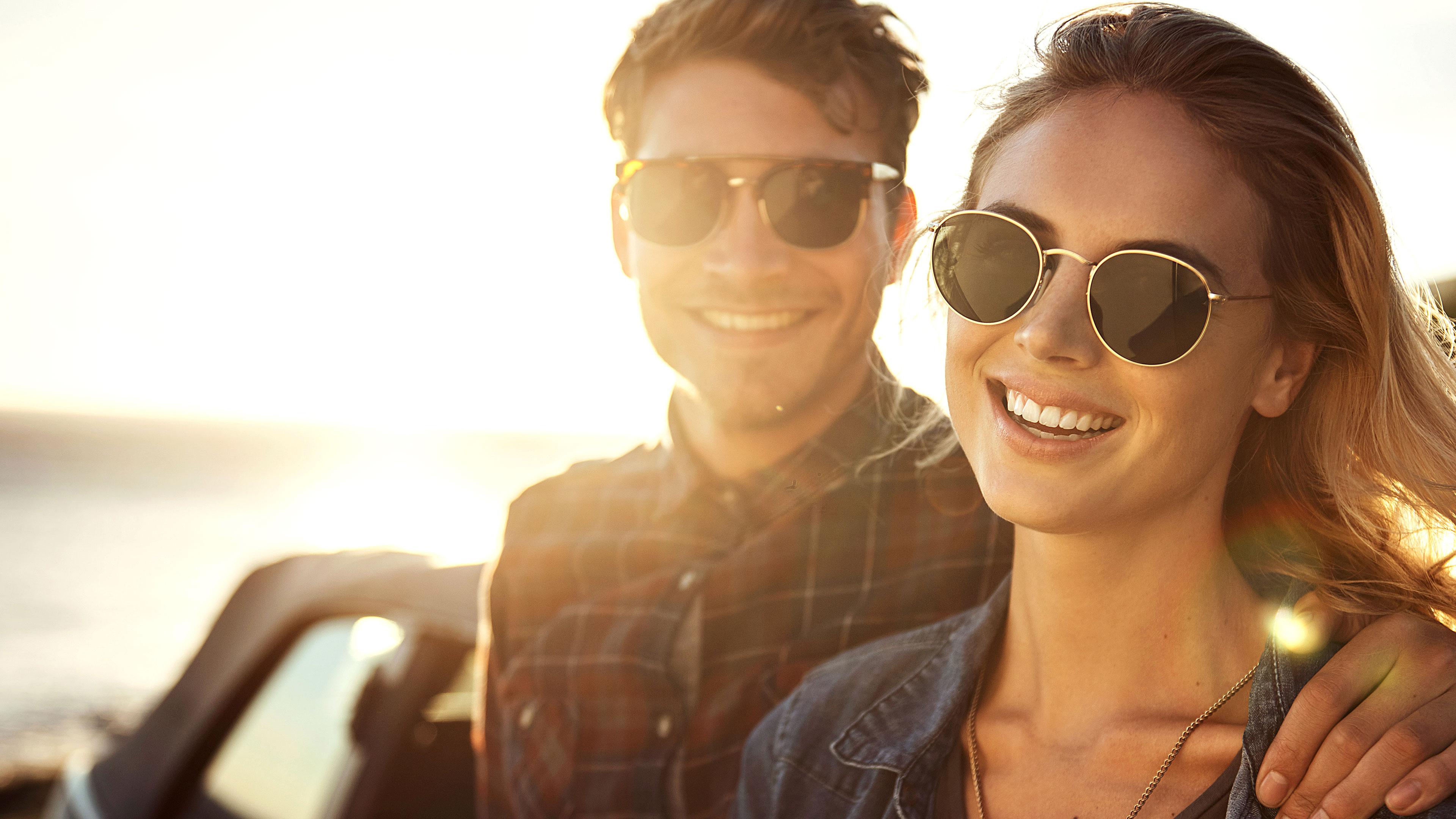 Sonnenbrillen-Intro